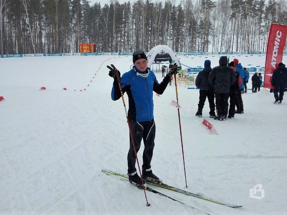 Дмитрий Нагаев после финиша на Первенстве Северо-запада