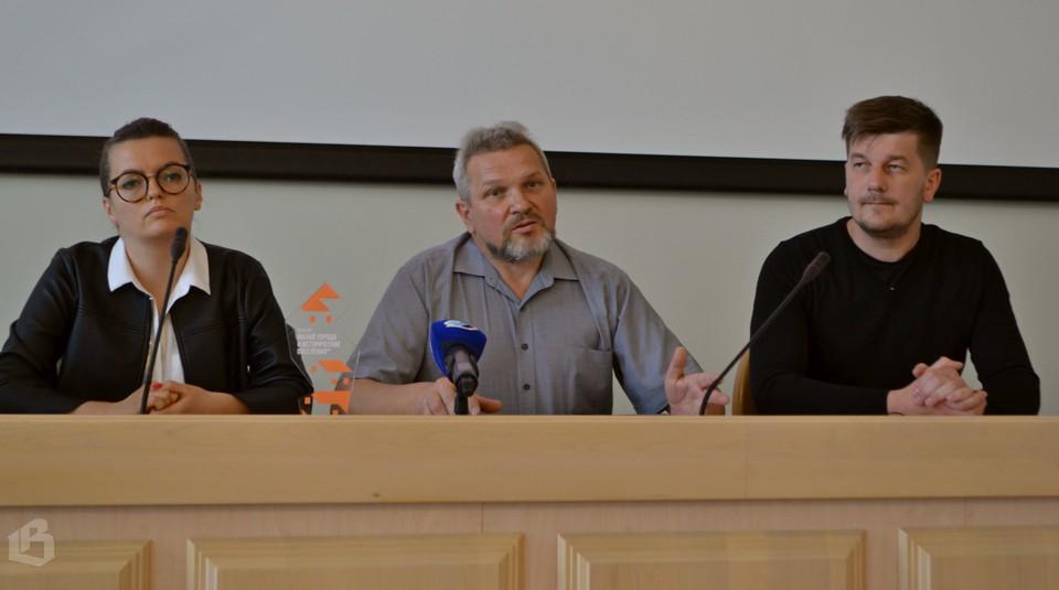 Светлана Данилова, Олег Лиховидов и Александр Демин