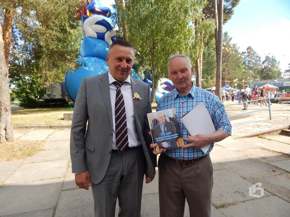 Владимир Рошкович  и Владимир Подситков –  почетный гражданин  Полянского поселения