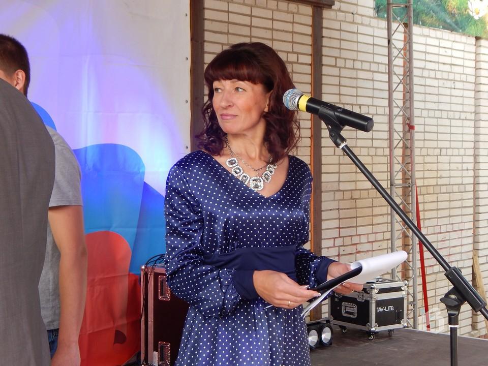 Лидия Зайцева, директор Полянского дома культуры