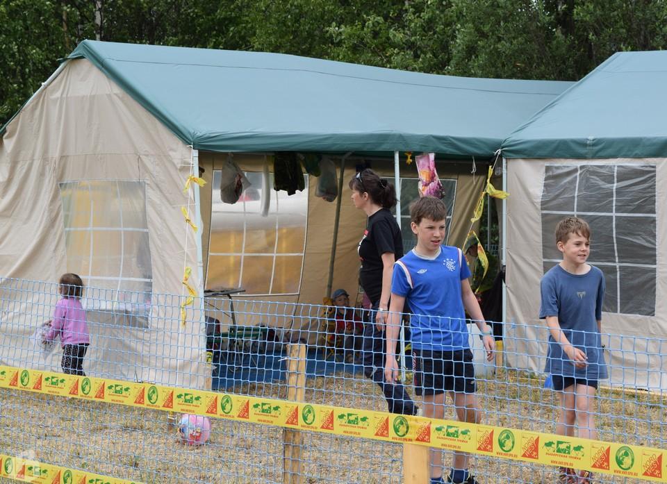 «Детский сад» расположен прямо около финишной прямой