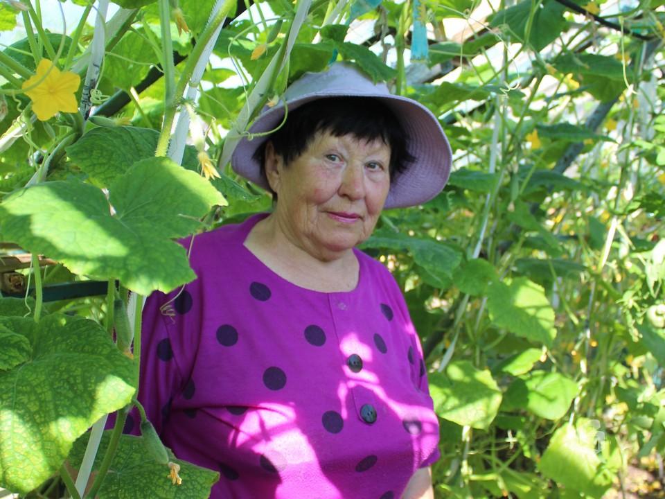 Мария Сушкова много лет  была старшей  Клубничной улицы