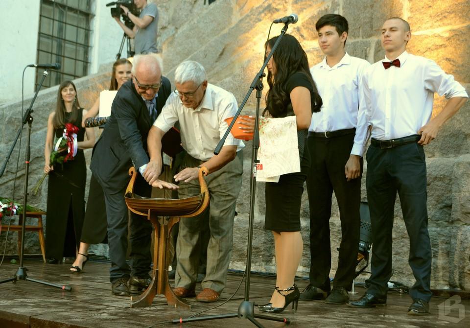 Али Хамраев – торжественный момент