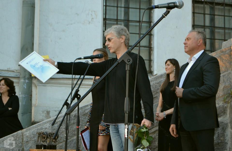 Сергей Ливнев, режиссер фильма «Ван Гоги» и Дмитрий Никулин