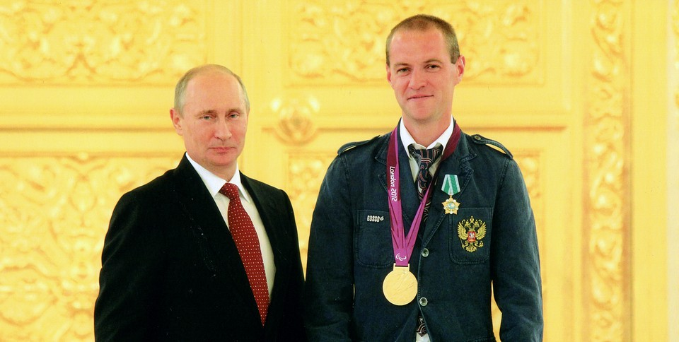 Владимир Путин и Алексей Тумаков