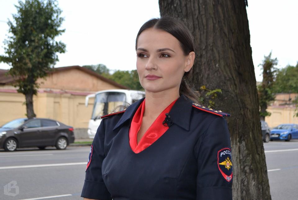 Любовь Алавина, пресс-секретарь выборгского УМВД