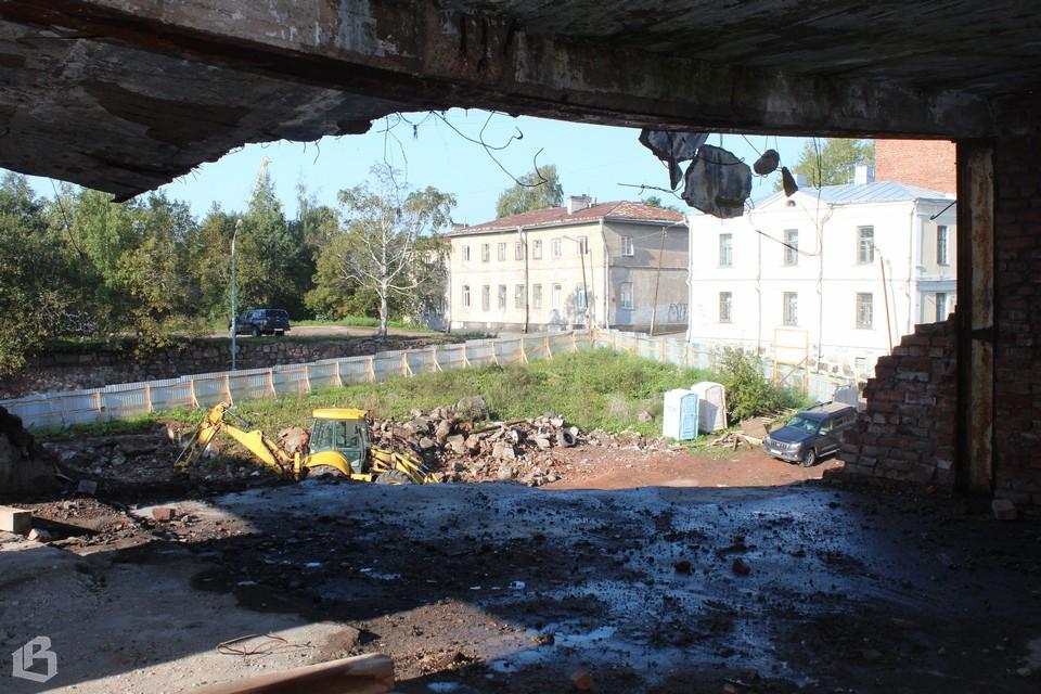 Консервация квартала Сета Солберга в Выборге