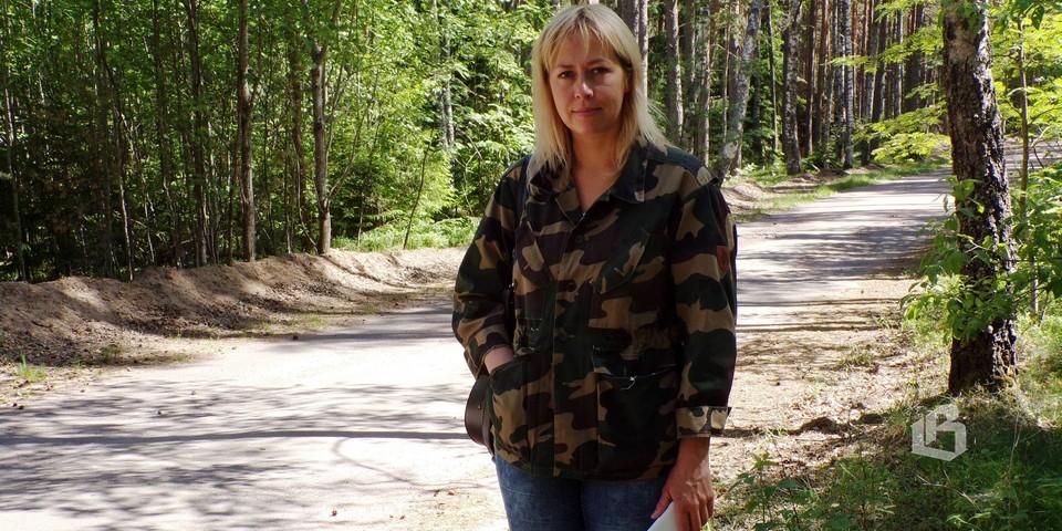 Ольга Богданова уверена: павшие и по сей день остаются на острове  Стеклянный
