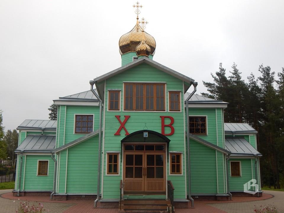 Православный храм прихода Преподобного Серафима Саровского
