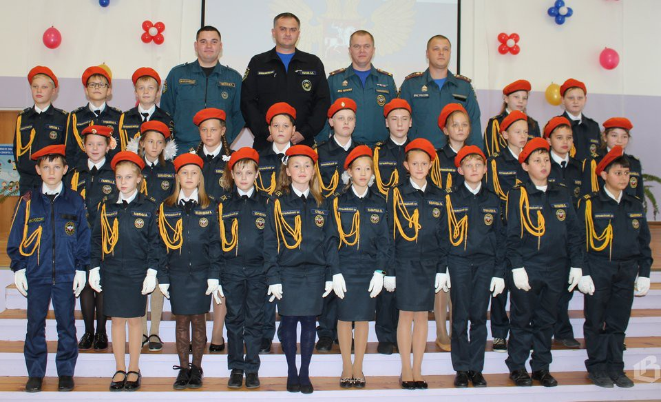 кадеты МЧС Выборгского района