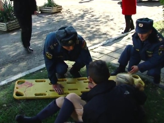 взрыв в Керчи