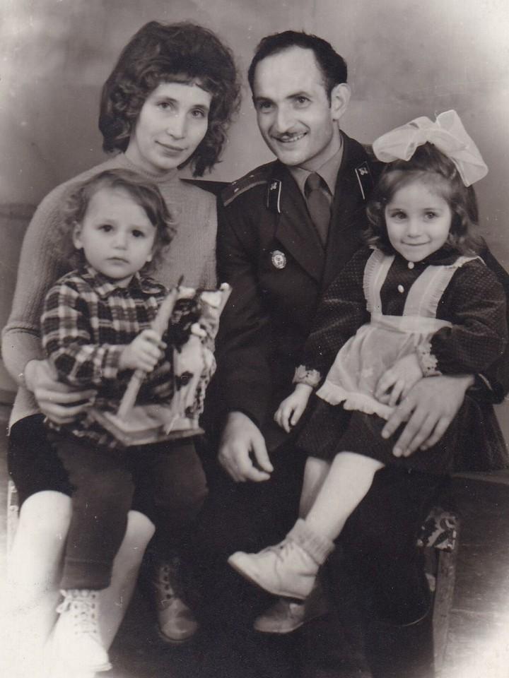 1965 год. Тбилиси. Тазагуловы всей семьей
