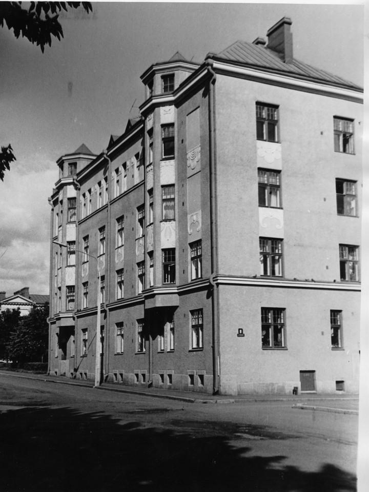 Дом  на улице Вилккеенкату