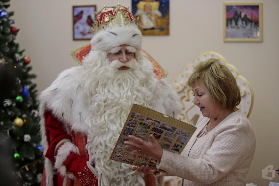 Дед Мороз в Выборге