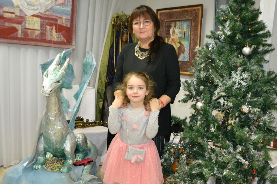 Рождественская выставка в выборгском Арт-Холе