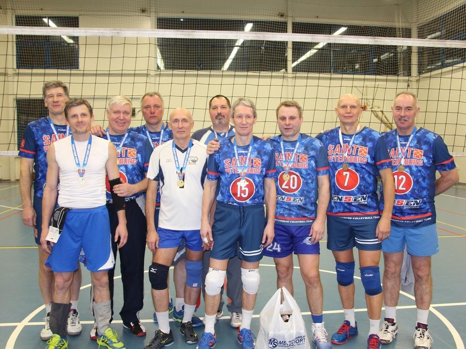 Победители турнира – команда «Ветераны Благодатной»