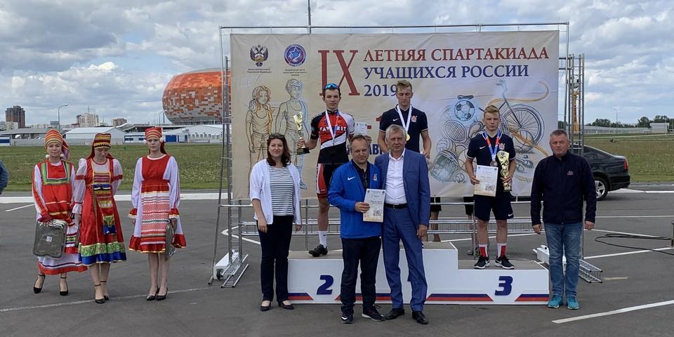 Ермаков Роман- серебряный призер гонки-критериума