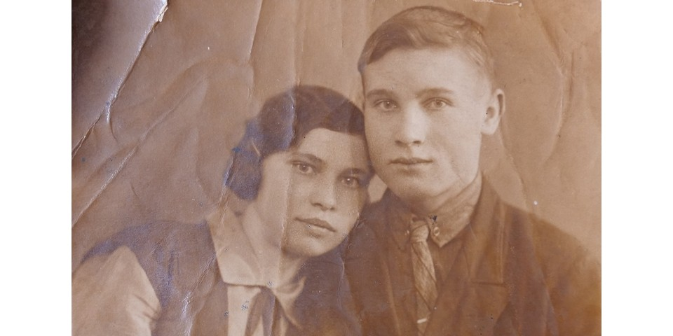 Будущим родителям Люды Вере и Константину по 15 лет, фото 1926 года