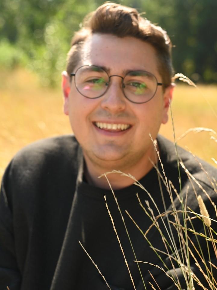 Польский писатель Михал Шимко