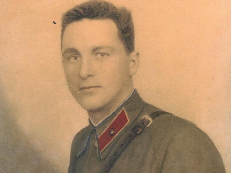 Василий Сотников на фронте