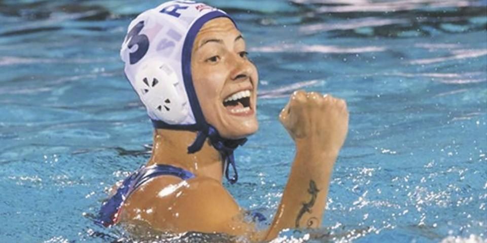 Команда по водному поло на Олимпиаде