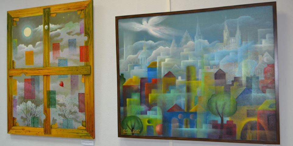 Выставка работ Юрия Гербиха открылась в Выборге