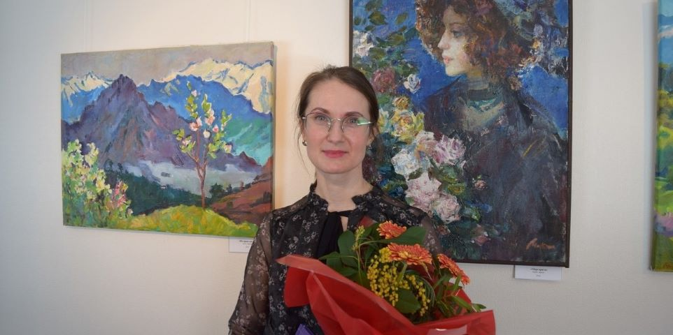 «Эрмитаж-Выборг»: открытие персональной выставки Анастасии Матвеевой