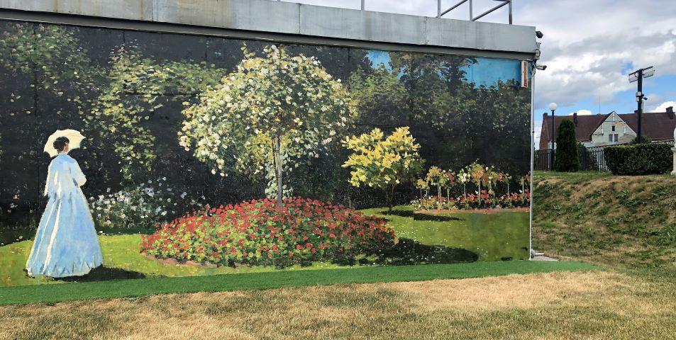 Из выборгского парка в сад Сент-Адресс