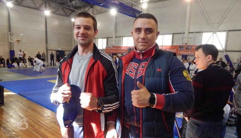 Геннадий Алексеев и Роман Пуфель