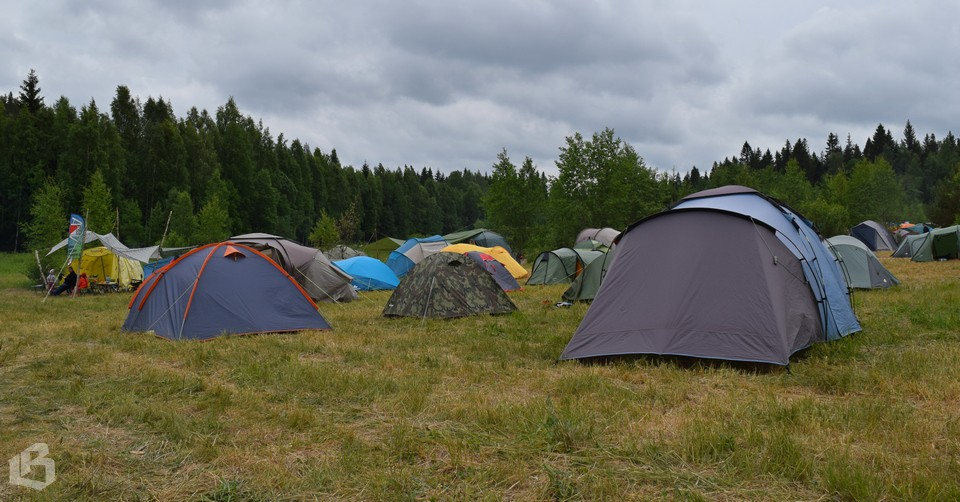 Лагерь соревнований