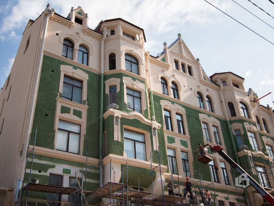 Дом купца Маркелова в стиле национального романтизма