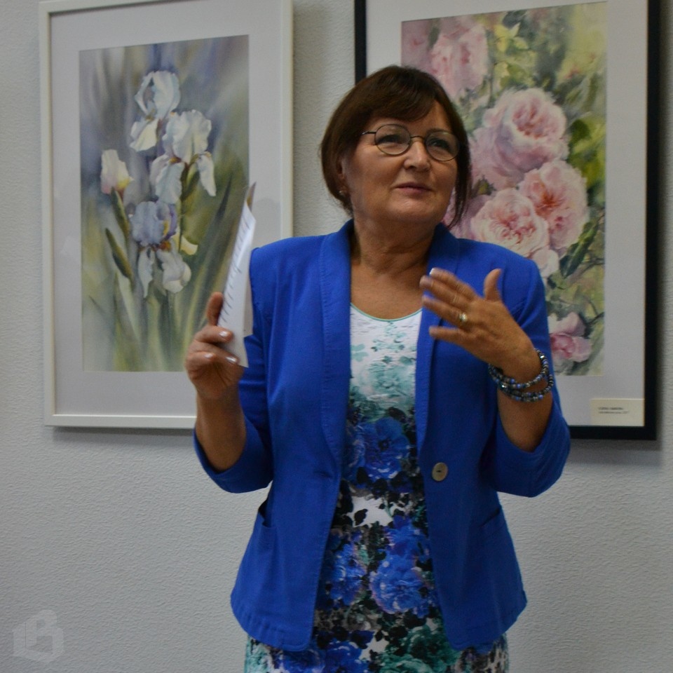 Наталья Юрданова, руководитель галереи Арт-холл