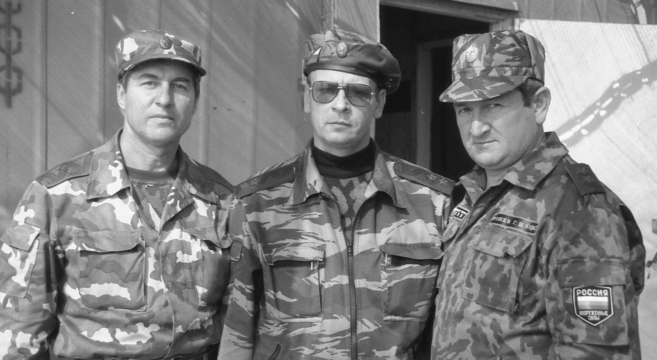 Анатолий Романов с коллегами