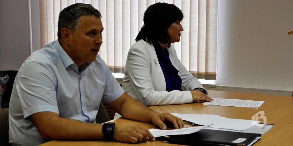 Андрей Голобородько и Ольга Карвелис