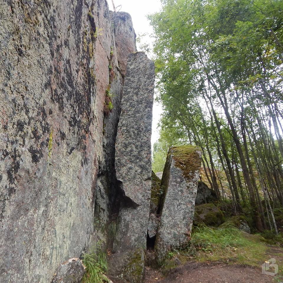 Каменногорские пещеры под Выборгом