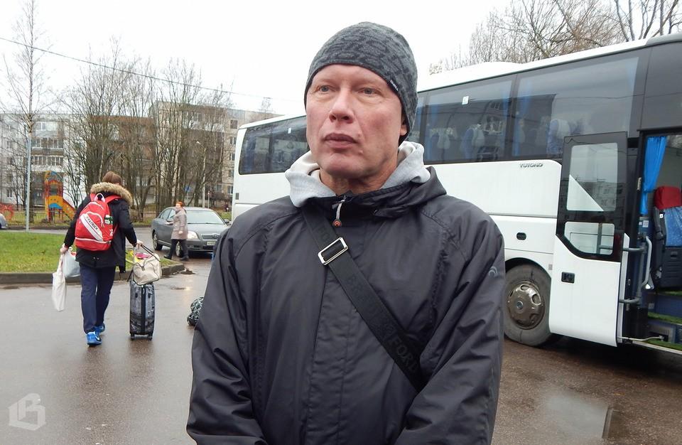 автобус школе олимпийского резерва в Выборге