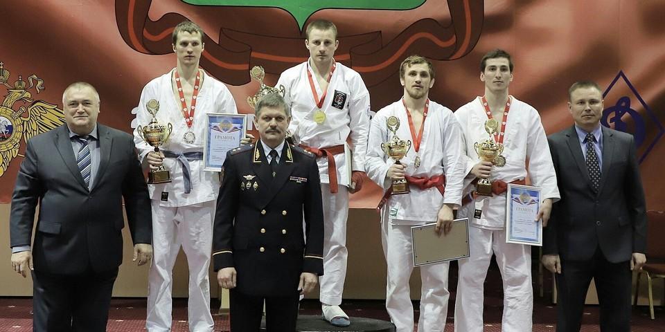 Фаворитовец завоевал золото чемпионата МВД порукопашному бою